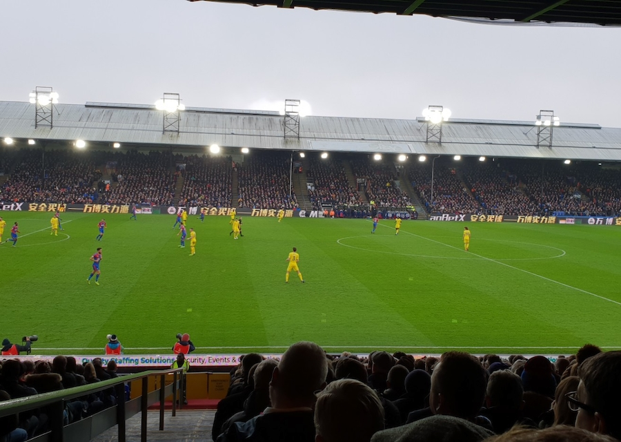 Losse tickets kopen Crystal Palace - Manchester United